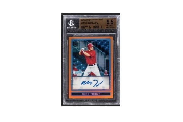 Mike Trout Superfractor