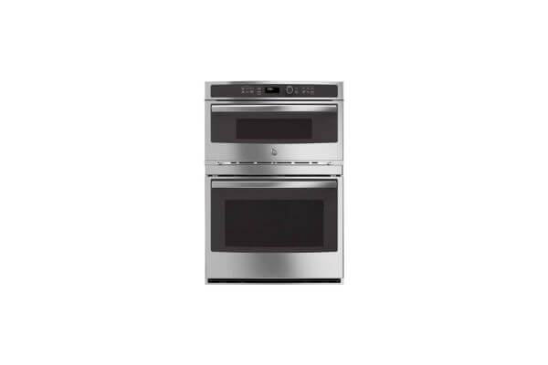 GE Double Electric Oven with Microwave