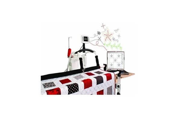 Grace QuiltMotion Professional Computer Automated Quilting System Compatible For Sewing Machine Viking Mega Quilter 18-8