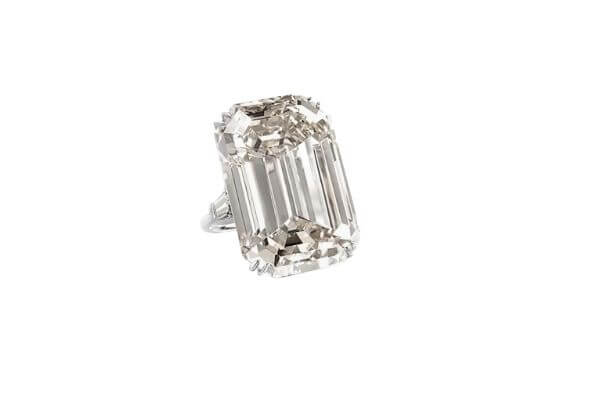 Jackie Kennedy Onassis Engagement ring from her 2nd husband Aristotle Onassis