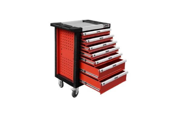 DNA MOTORING 7-Drawer Chest Rolling Tool Cart Cabinet (TOOLS-00001)